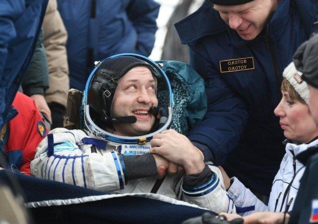 俄罗斯宇航员亚历山大·米苏尔金