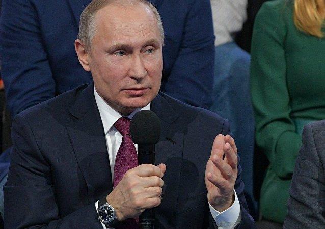 普京:俄罗斯只将核武器用作反击手段