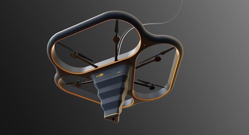 媒体:中国打造出会飞的3D建筑打印机