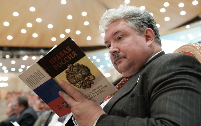 俄罗斯全民联盟党候选人谢尔盖·巴布林