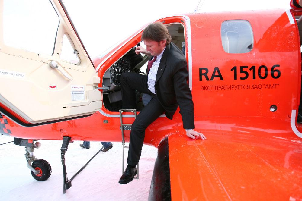 2012年季托夫被任命为俄罗斯总统保护企业家权利全权代表。