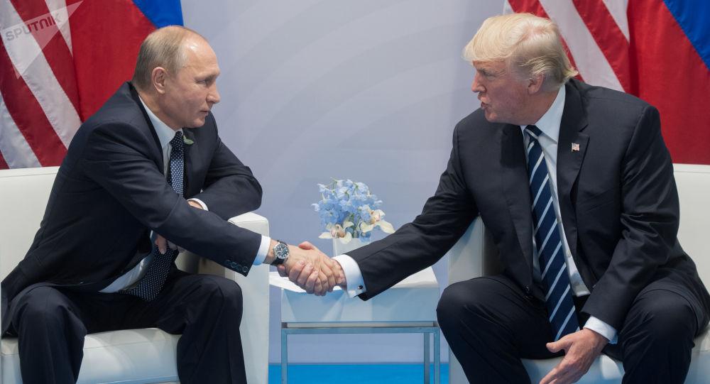 特朗普:將同普京討論各項問題