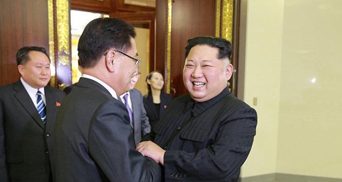 韓聯社:韓朝商定4月底在板門店舉行首腦會談