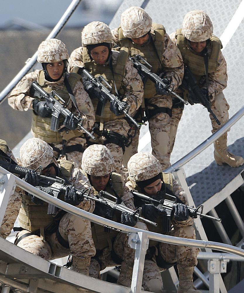 阿联酋女兵