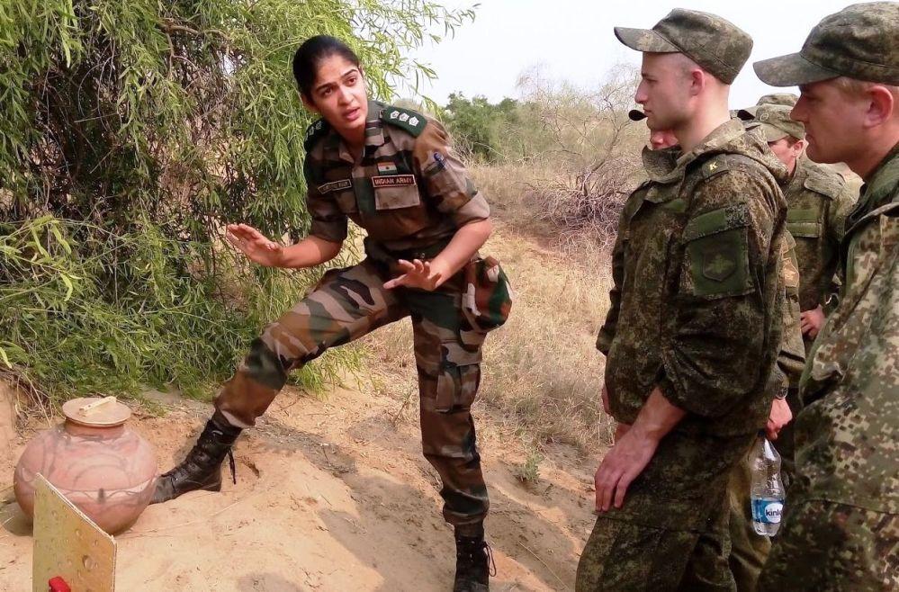 印度女军官
