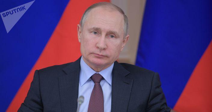 普京:在反恐戰場上應聯合國際力量