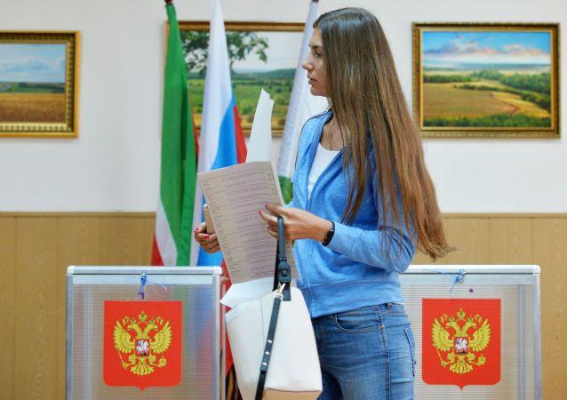 中选委:约17万选民可以在俄总统选举中提前投票