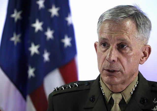 美国驻非洲美军指挥官瓦德豪瑟将军