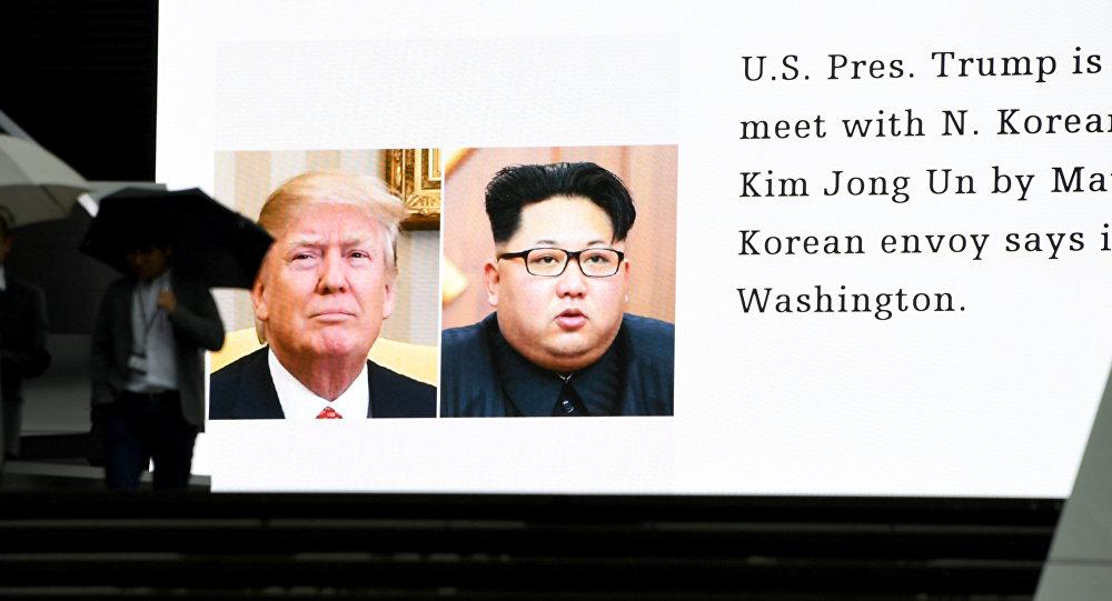 """美国务卿:美朝领导人会晤筹备工作将需要""""数周""""时间"""