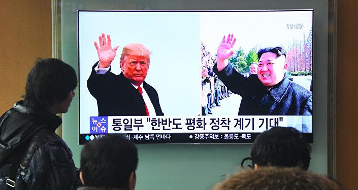 美专家称特朗普或在美朝峰会上提出放松对朝贸易封锁