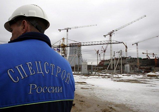 列宁格勒2号核电站1号核电机组已经开始工作