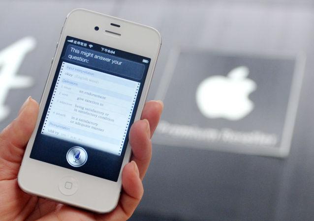 一美国人起诉苹果公司手机Siri助手监听用户谈话