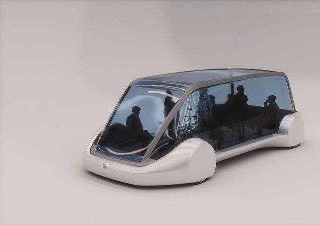 伊隆·马斯克推出了一个带电动公交的地下隧道系统