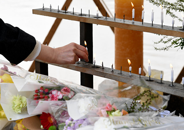 日本默哀一分钟悼念2011年3月11日大地震海啸遇难者