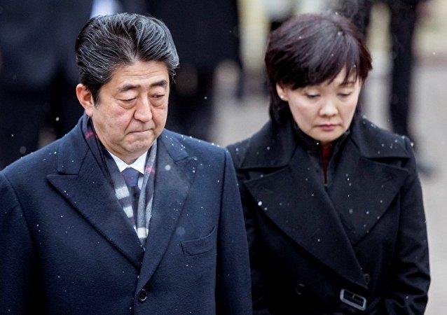 """日本""""地价门""""丑闻文件已抹去首相夫人名字"""