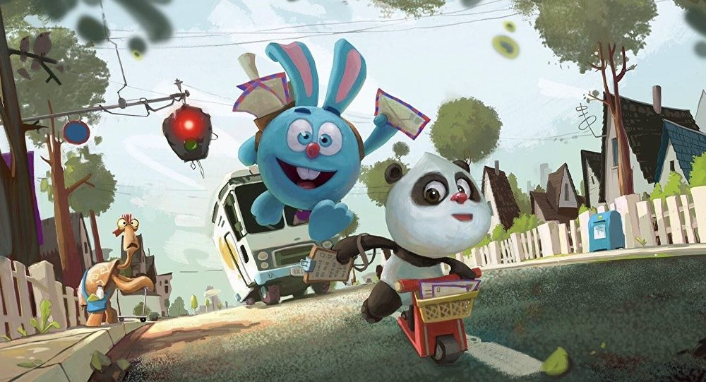 探索世界的熊貓和兔子:俄中動畫新片即將搬上銀幕