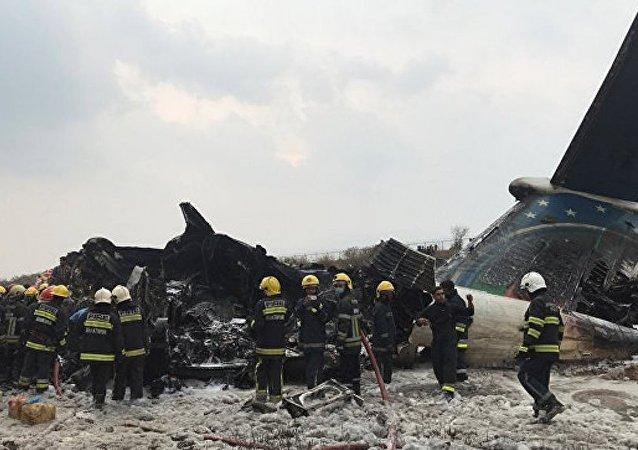在加德满都机场附近坠毁的US-BANGLA航空公司飞机上载有约80人