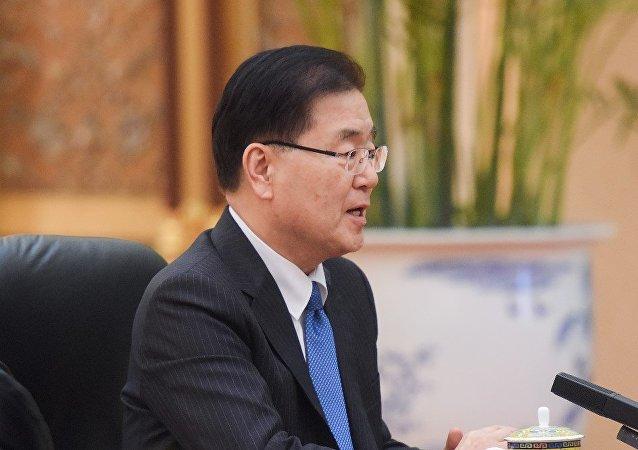 韩国总统特使郑义溶