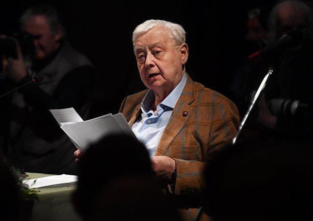 前苏联人民演员奥列格·塔巴科夫去世