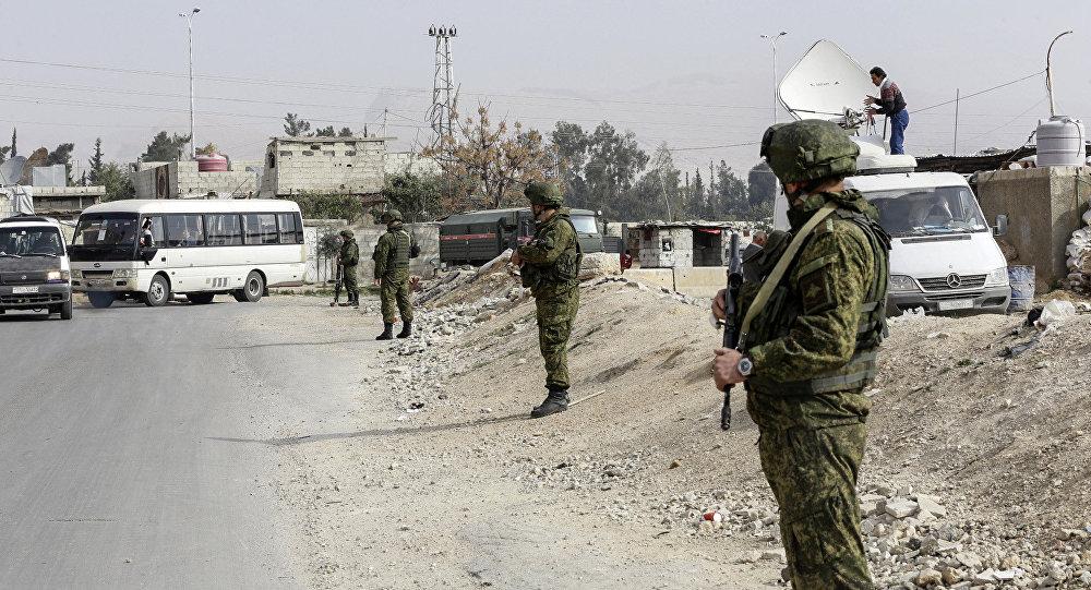 据俄国防部消息,涉嫌2月在叙袭击俄军队的土匪被剿灭