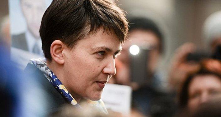 乌克兰最高拉达指责萨夫琴科逃往俄罗斯