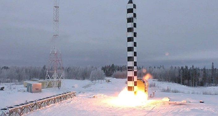 俄總參謀部介紹「薩爾馬特」導彈試射準備