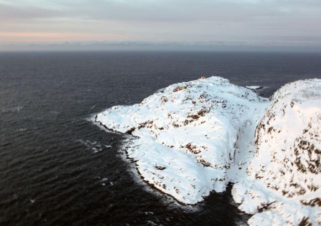 俄罗斯摩尔曼斯克州巴伦支海科拉半岛捷里别尔斯卡娅湾