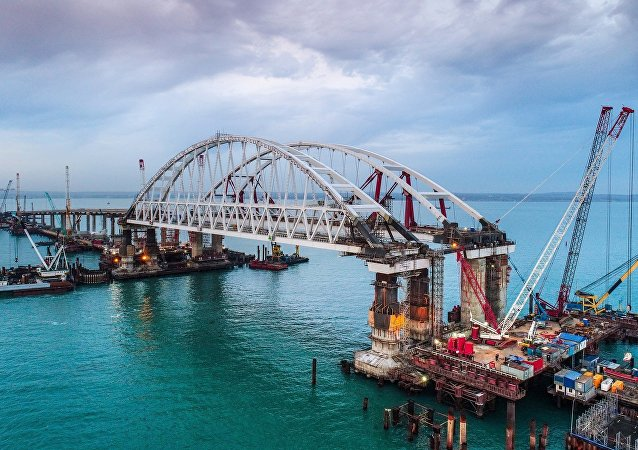 克里米亚大桥(资料图片)