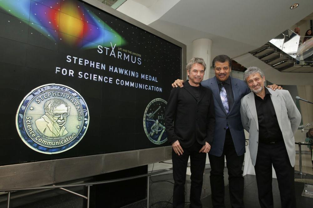 物理学家斯蒂芬·霍金