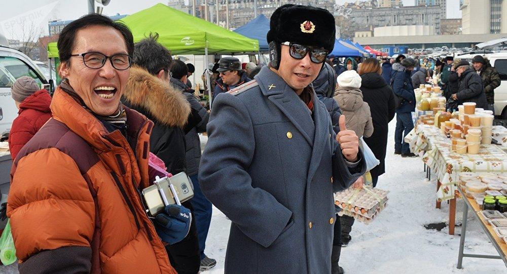 中國遊客今年上半年在到訪濱海邊疆區的外國遊客中數量最多