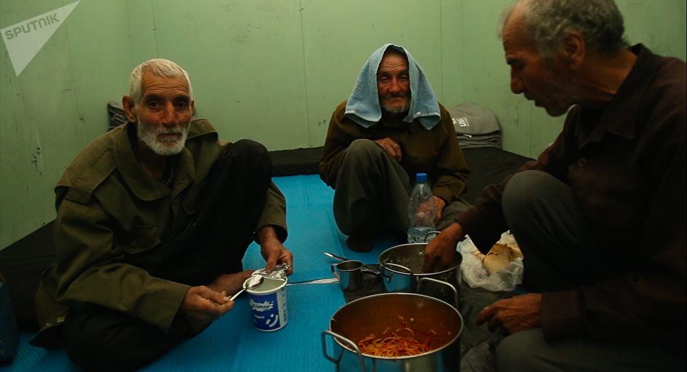 古塔區難民