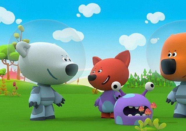 《小小熊》動畫片