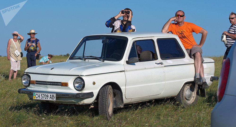 在乌克兰创下了扎波罗热人牌汽车的装人数量记录