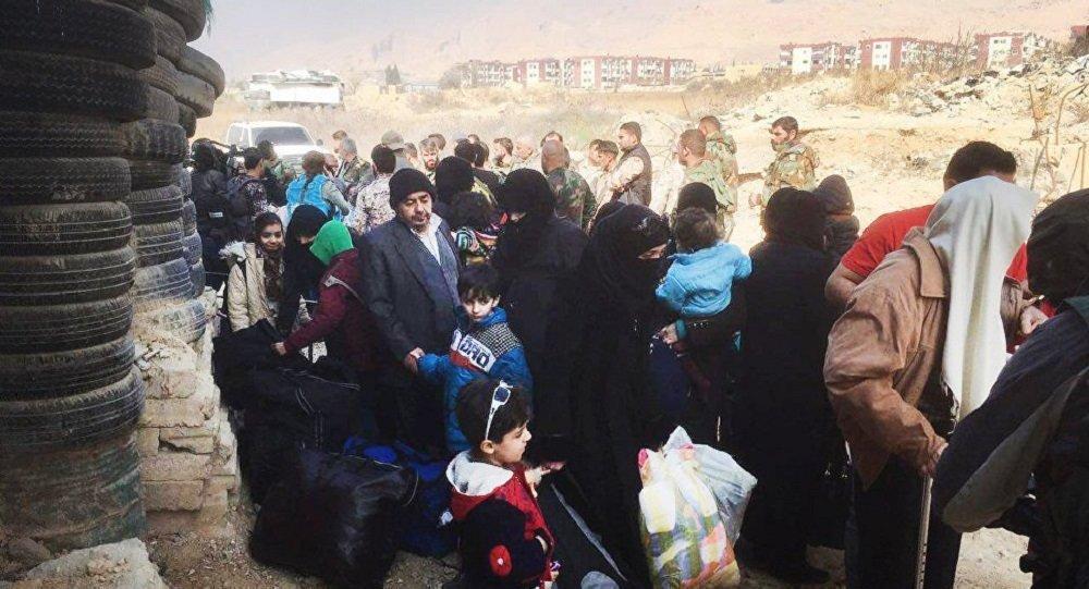 超1100名難民一晝夜內從境外重返敘利亞