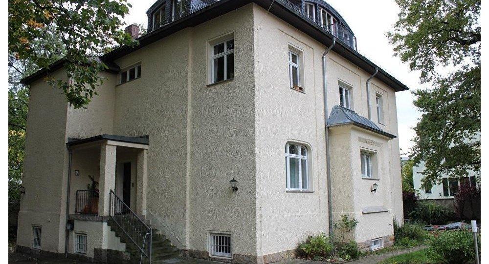 德累斯顿的原克格勃大楼,普京曾工作过的地方