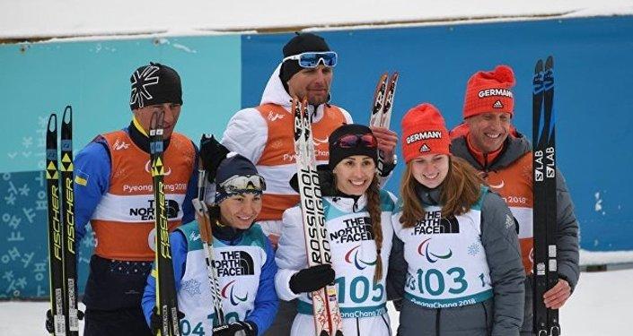 俄罗斯冬季两项运动员米哈利娜·雷索娃夺得