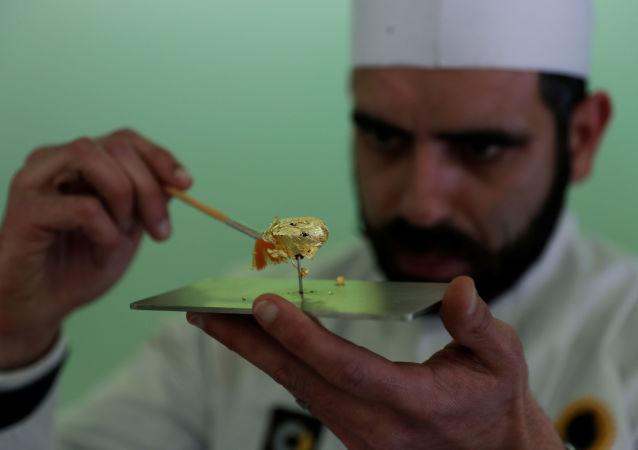 在葡萄牙展示了世界上最贵的糖果