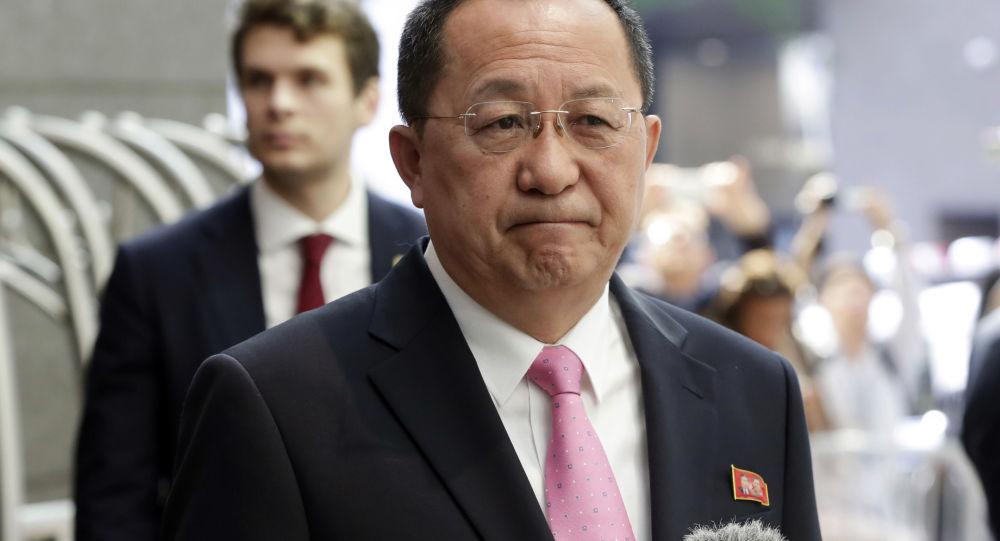 朝鲜外相李勇浩