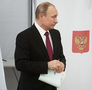 普京称三月大选是俄罗斯史上最透明廉洁的总统选举