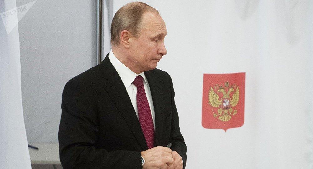 普京稱三月大選是俄羅斯史上最透明廉潔的總統選舉