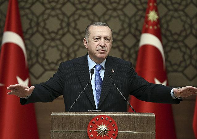 土耳其總統大選提前 埃爾多安宣佈啓動連任競選活動