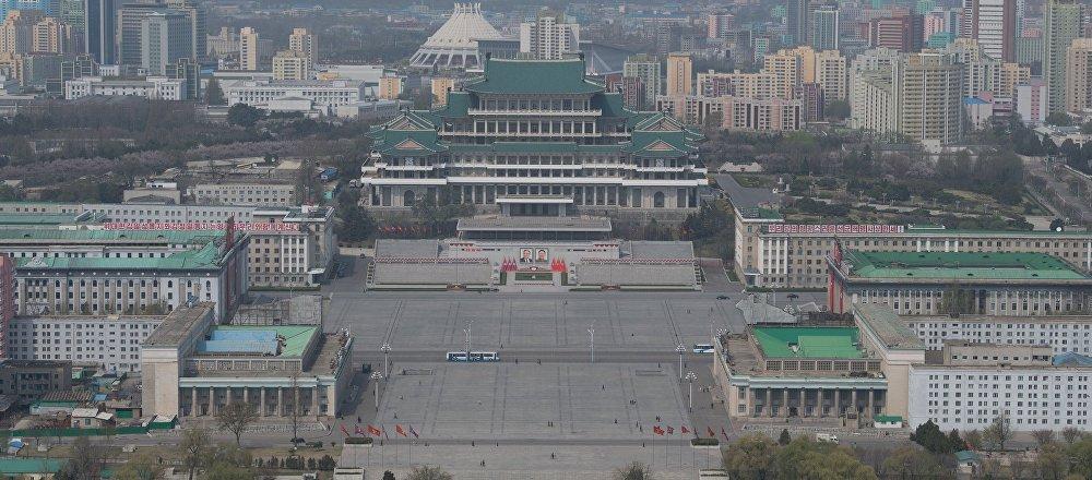 朝鲜首都平壤
