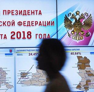 俄中選委23日將總結俄總統選舉正式結果
