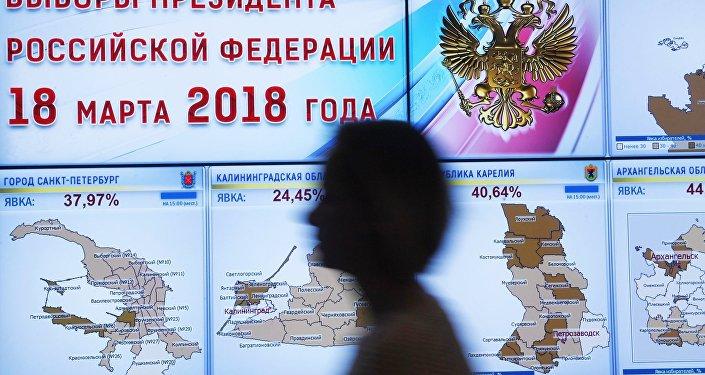 俄中選委:99.84%選票統計結果顯示5620.6萬選民投票選普京
