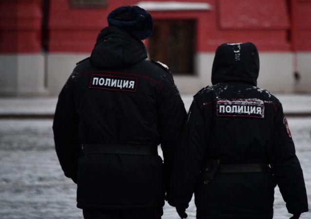 莫斯科警方(資料圖片)