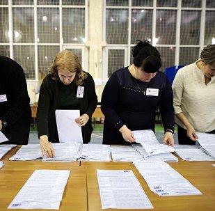 俄中选委称俄总统选举期间未发生能影响选举结果的违规情况