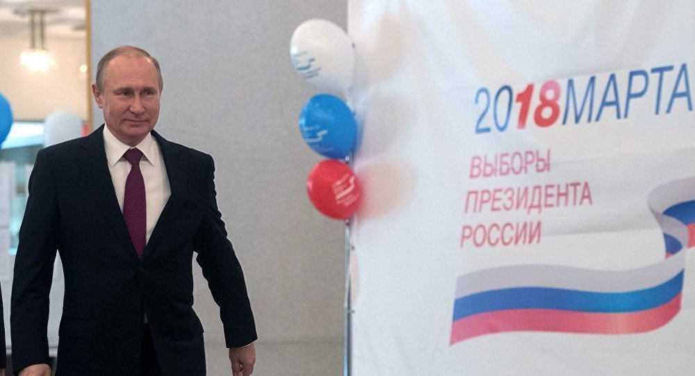 普京再次當選俄總統有利於世界穩定