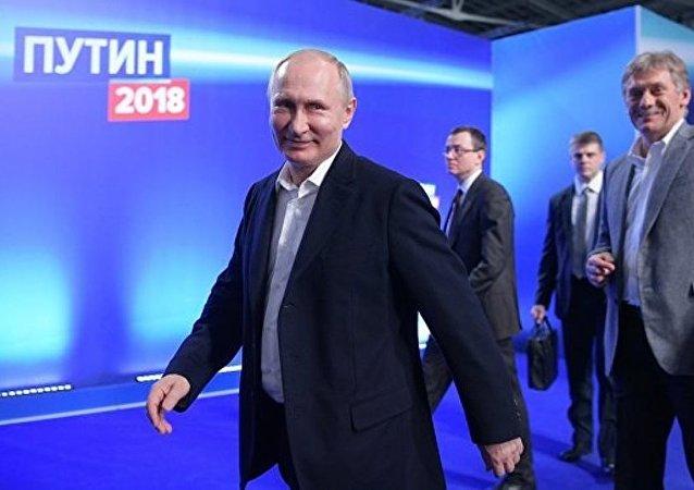塔吉克斯坦總統祝賀普京贏得總統大選