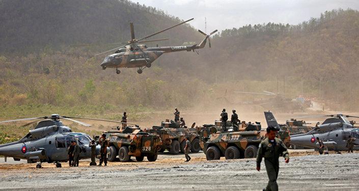 中國國防部:「金龍-2018」中柬兩軍聯訓向反恐領域拓展
