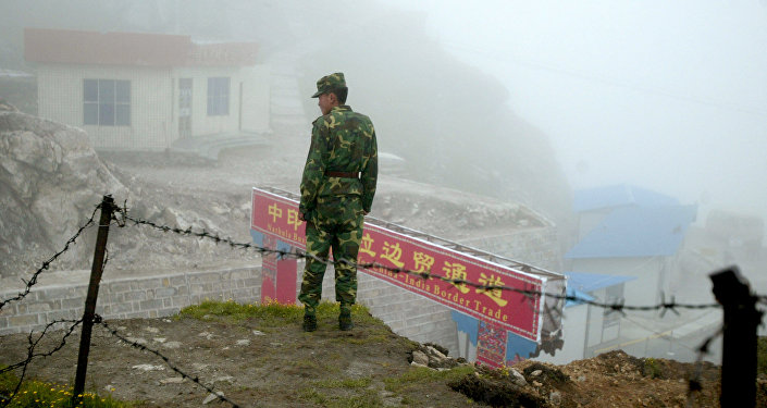 中印邊防部隊高級別代表會晤在中印邊界東段舉行